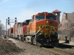 BNSF 4953 & CN 5414 heading east with M394
