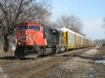 CN 5659 & IC 6018 heading west with A481