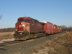 CP 9584 leading X500-19 east