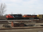 CN 6028 & BNSF 1085
