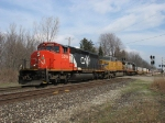 CN 5294, UP 9688 & WC 6943 leading Q149
