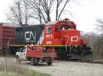 GTW 4615 waits ib Kilgore Yard to go back to work on 921
