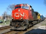 CN 2649 & BNSF 6722 leading X397