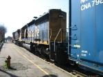 BNSF 6722 & CN 2649