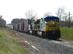 CSX 669 & 429 with Q288-28 stretched out for more than a mile behind them