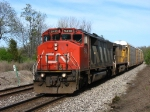 CN 5412 & UP 6522 rolling west with E281