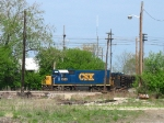 CSX 1560 sitting back in the yard