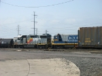 CSX 2667 coupled up to 9244