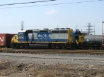 CSX 6054 and the 9156 behind