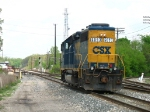 CSX 6093 waiting for the signal