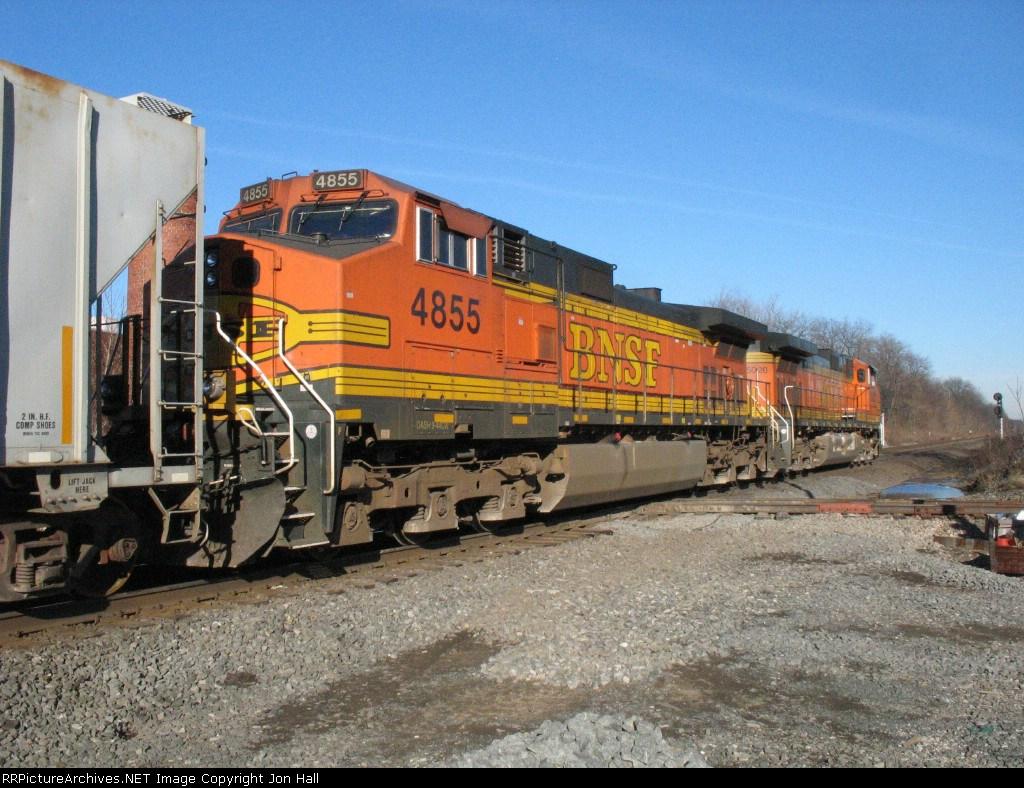 BNSF 4855 & 5020