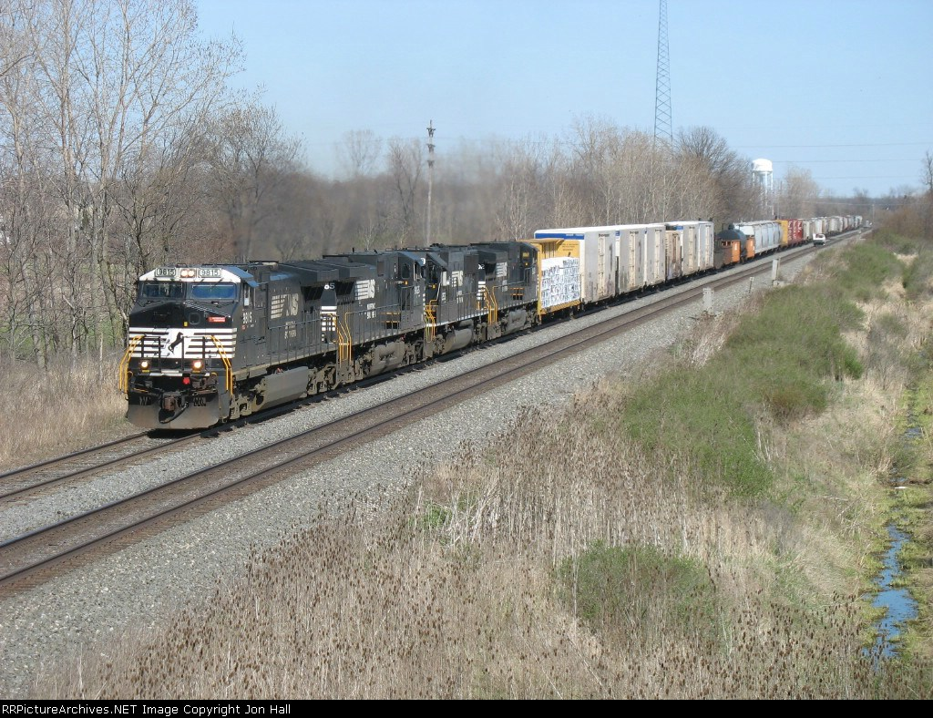 NS 9815 leading three other units west on 17M
