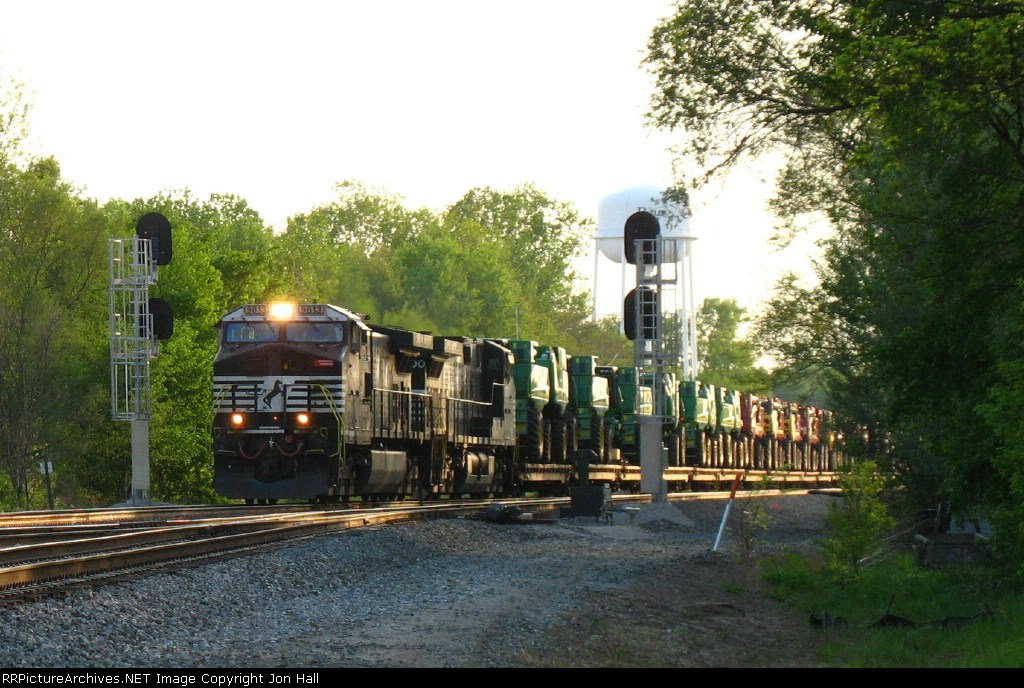 NS 9813 & 9300 bringing 62A into CP358