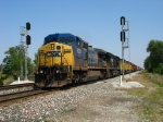 CSX 9024 & NS 7508 leading Q369-21