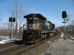 NS 8566 splitting the signals at 474