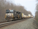 NS 9296 & 2757 rolling west with 205
