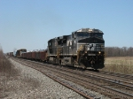 NS 9954 & 8731 leading an eastbound