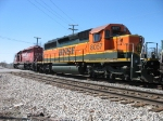 BNSF 8057 trailing behind CP 5902