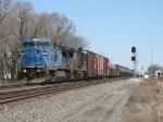NS 8462 & 8744 wheeling a westbound through CP358