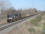 NS 9412 & 9618 pulling 558 west with coal loads for NIPSCO