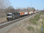 NS 7619 & 2745 rolling westard with 21Z