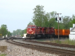 CP 9704 & 8579 lead 24T around the new connection