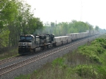 NS 9322 & 9645 smoking it up on the point of 205
