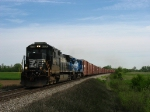 NS 8770 & 8397 racing down the Huntington past West Butler with 17J