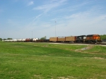 BNSF 6835 & NS 6151 waiting to go to work in the yard at SDI with L96