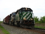 FURX 7928 & NS 7523 rolling east with 10R