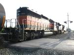 BNSF 7150 & NS 2674