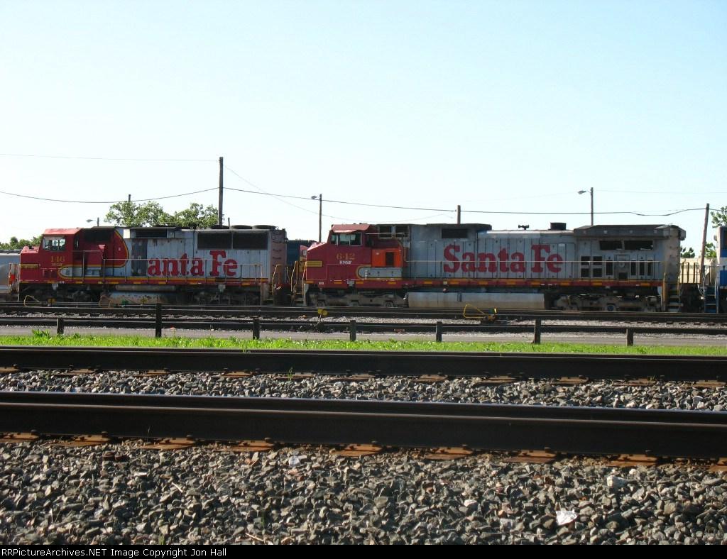 BNSF 146 & 642