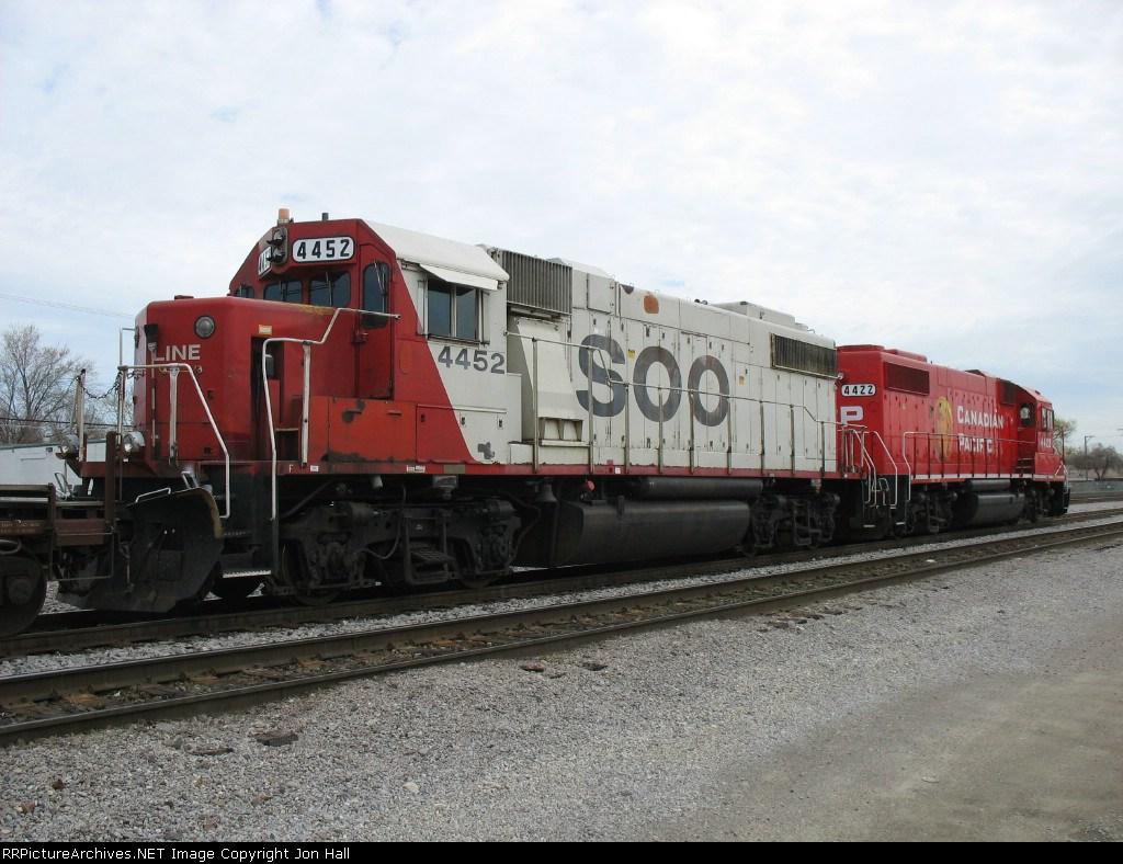 SOO 4452 & CP 4422