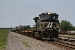 NS 9109 rolling solo eastward
