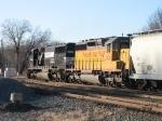 UP 3456 & NS 6740
