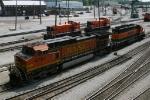 BNSF 4762 & 6829 with IHB 1509 & 1507