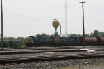 CSX 7734 & 9028 waiting to go east