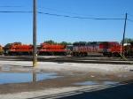 BNSF 118 mingling with IHB 1509 & 1507