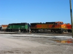 BNSF 4774 & 8062 sitting in Blue Island Yard