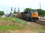 CSX 4717 & 5243 rolling in with Q369-05