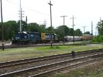 HLCX 8164 & CSX 8084 leading another eastbound out of Blue Island Yard