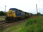 CSX 7761 & 671 starting east with Q138