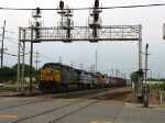 CSX 119 leading Q324 eastward