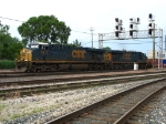 CSX 5314 & 5297 rolling west with another intermodal