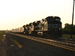 NS 9325, 2766 & 2681 knocking down a few more miles before getting tied up in the traffic jam ahead