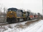 CSX 5262 & 7396 heading north with Q120