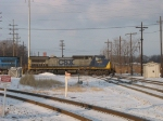 CSX 7652 on the diamonds