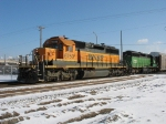 BNSF 6750 & FURX 7225