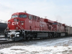 CP 8813 & 8741 wait to go east with K803