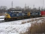 CSX 7828 & 9017